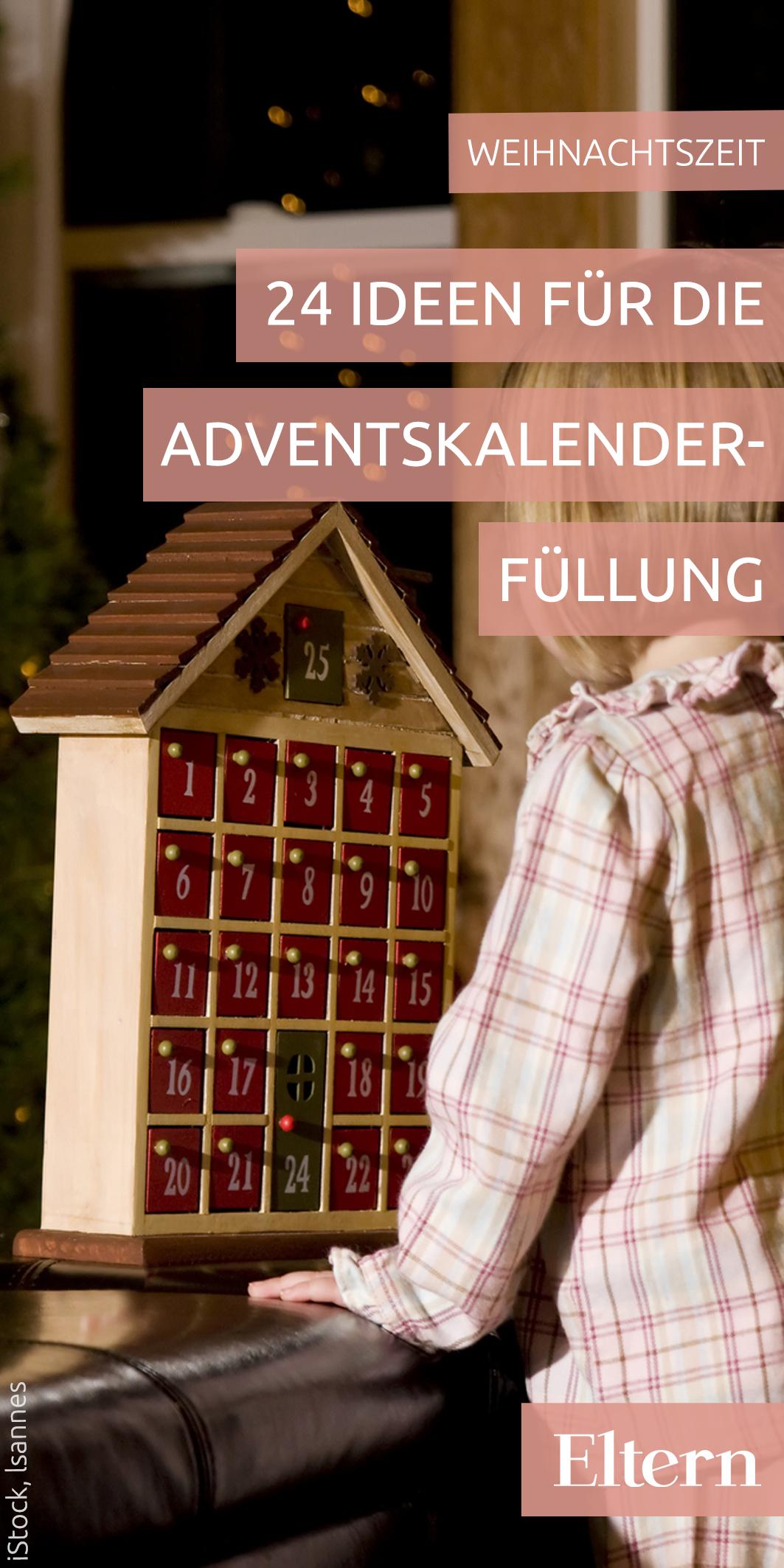 24 kreative ideen f r die adventskalender f llung weihnachtszeit mit kindern adventskalender. Black Bedroom Furniture Sets. Home Design Ideas