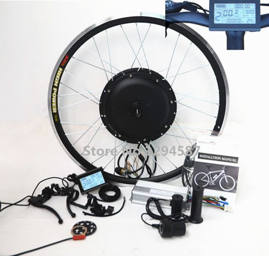 70KM/H electric bike kit 48v 1500w e-bike kit rear wheel with newest