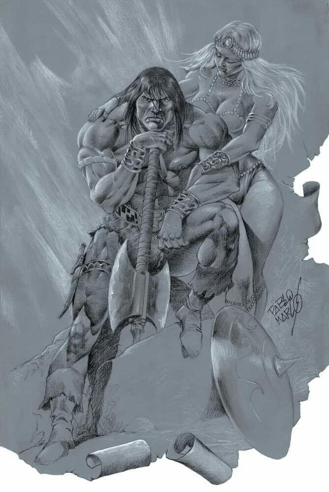 Pin By Ronald Warnik On Conan The Barbarian Fantasy Art Dark Fantasy Art Fantasy Artwork