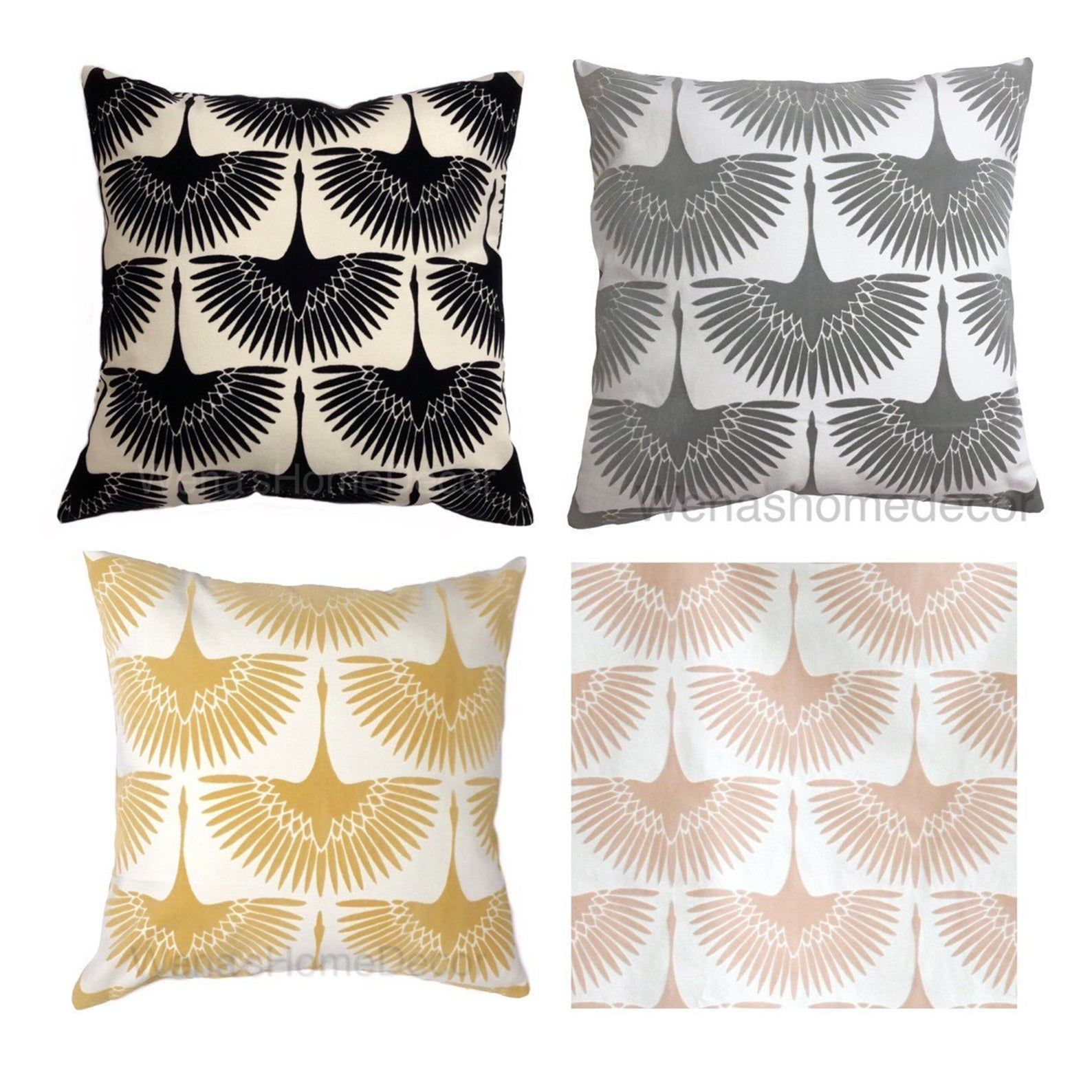 Double Sided Genevieve Gorder Flock Velvet Onyx Pillow Cover, Home Decorative Pillow Cover, A...#cover #decorative #double #flock #genevieve #gorder #home #onyx #pillow #sided #velvet