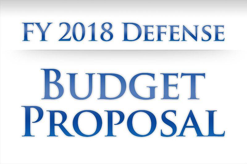 Special Report Fy  Defense Budget Proposal  Nato