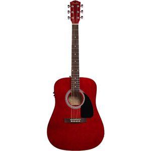 Walmart Fender Fa 200 Acoustic Electric Guitar Package Acoustic Electric Guitar Acoustic Electric Guitar