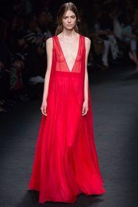 Vestiti lunghi rosso valentino