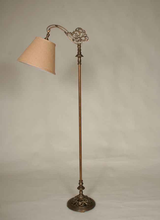 Vintage Bridge Floor Lamp, c. 1920   Antiques   Pinterest   Floor lamp