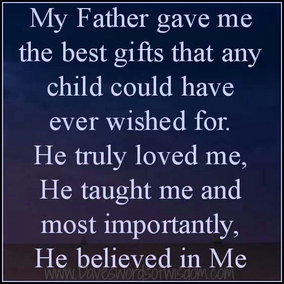 A Father Thinks About His Children Day And Night Even When They Are Not With Him And He Will Love Them Fathers Day Quotes Family Matters Quotes Matter Quotes