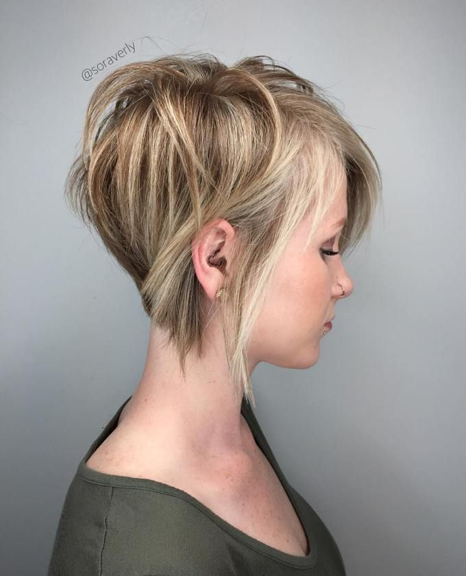 70 Cute And Easy To Style Short Layered Hairstyles Blonde Pixie