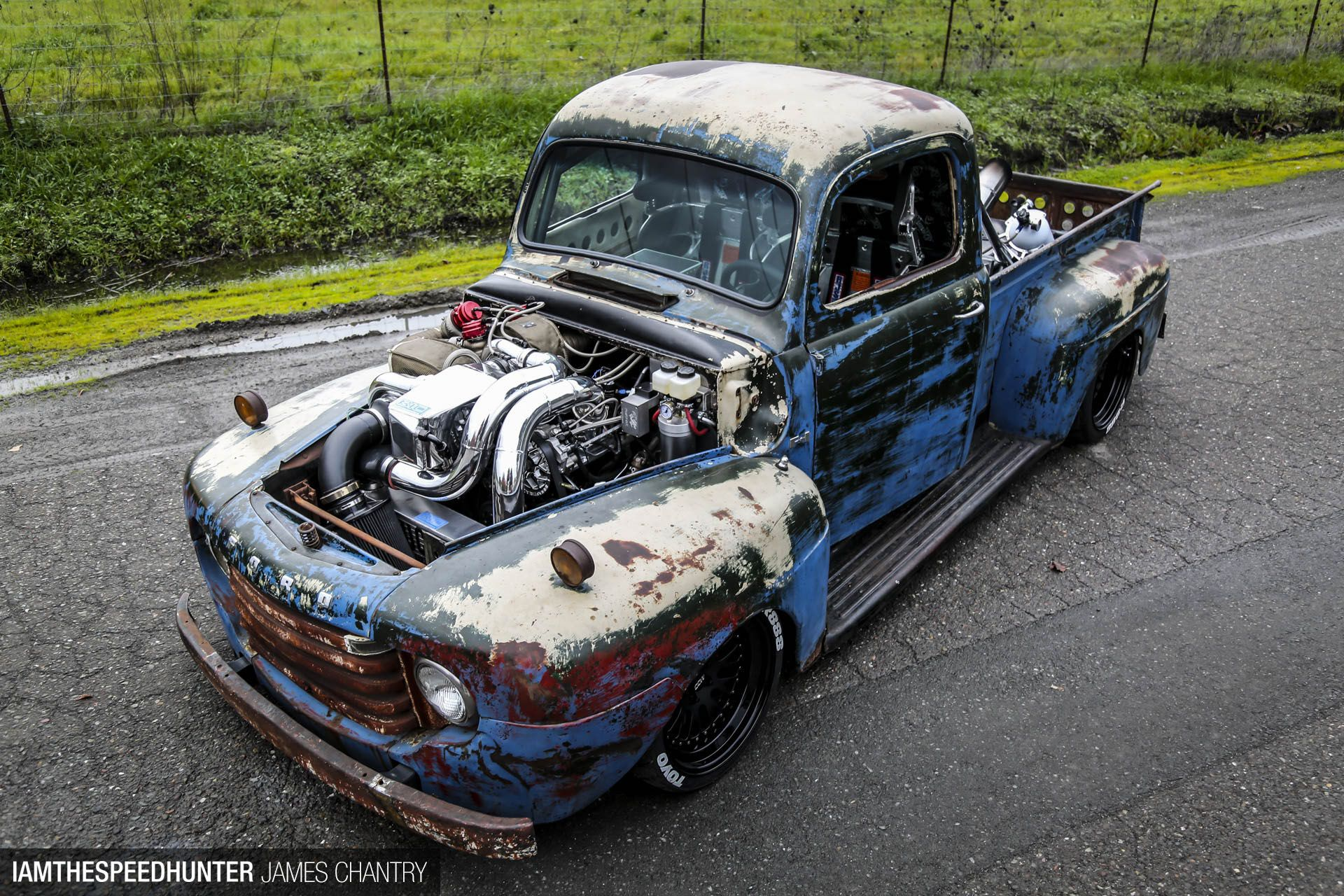 Old Smokey F1 The Quest For 200mph Rat Rods Truck Classic