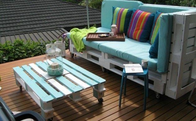 Gartenmöbel selber bauen - originelle DIY Ideen für Ihre grüne Oase ...