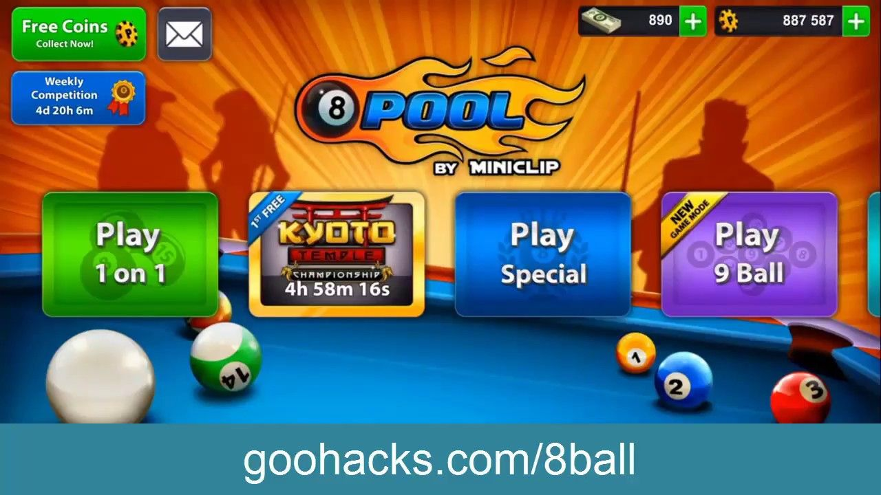 8 Ball Pool Hack Free Coins And Cash Hack 8 Ball Pool Coins