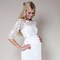 ec1e02d7c7 kismama menyasszonyi ruha | Gyönyörűséges pocakos-menyasszonyok és ...