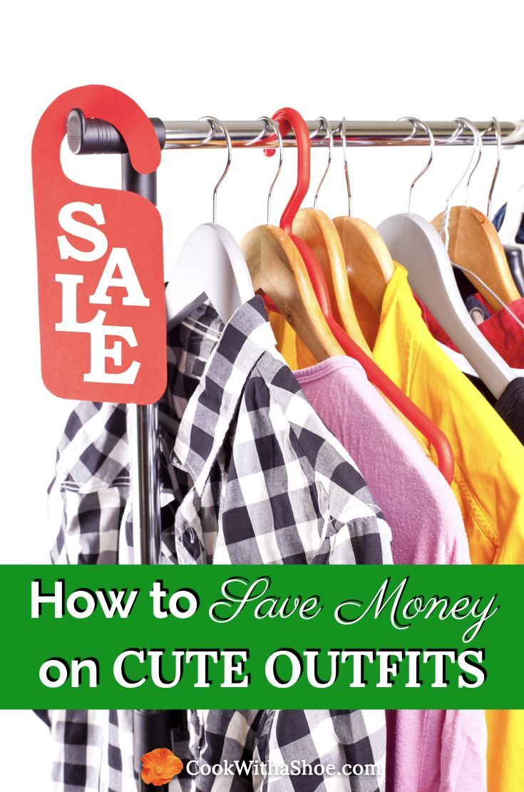 Here are my 5 secret tips to find massive savings on cute outfits- I only spend $25 a month. Don't overspend on clothing again! #clothes #clothing #outfits #budgettips | save money on clothes | clothing on a budget | clothes on a budget | saving money | budget tips | frugal | shopping on a budget | Cook With a Shoe