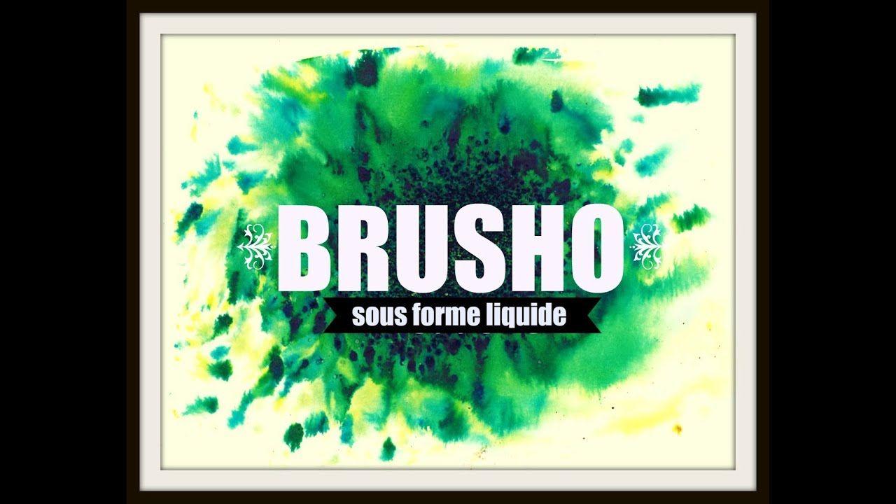 Brusho 5 Techniques D Utilisations Sous Forme Liquide Fond
