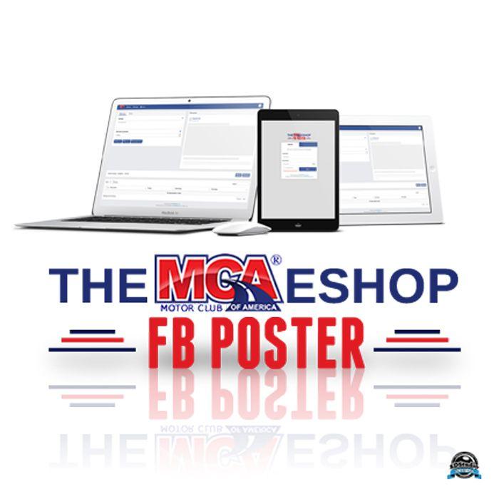 Mcafbposter Has Launch Mca The Mcaeshop Product Launch Market Design Mca