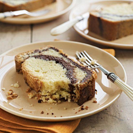 Nutella-Swirl Pound Cake Recipe - Lauren Chattman | Food & Wine
