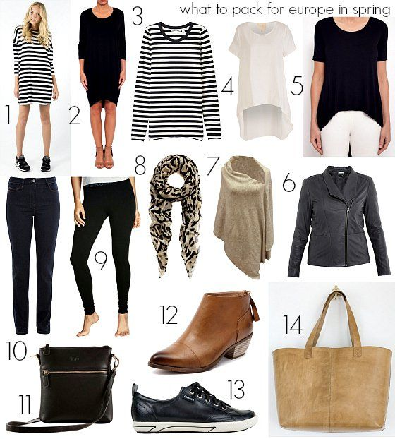 What To Pack For Europe In Spring Travel Packing For