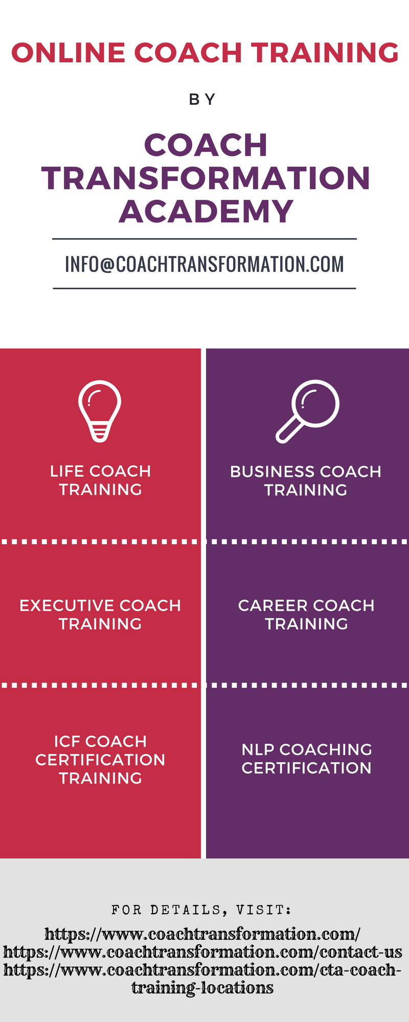 Coach Transformation Academy Offers World Class Coach Training
