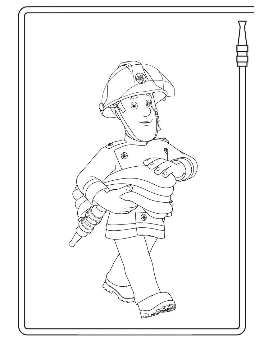 Brandweerman Brandweerman Brandweer Thema