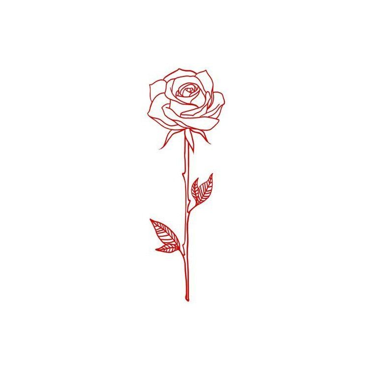 For The Love Of A Lifestyle Blog Focusing On Self Fulfillment Health Wellness Success And Lo Rose Drawing Tattoo Rose Tattoo Stencil Single Rose Tattoos