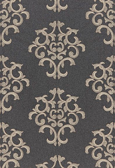 Byron Embroidered Wool Schumacher Fabric