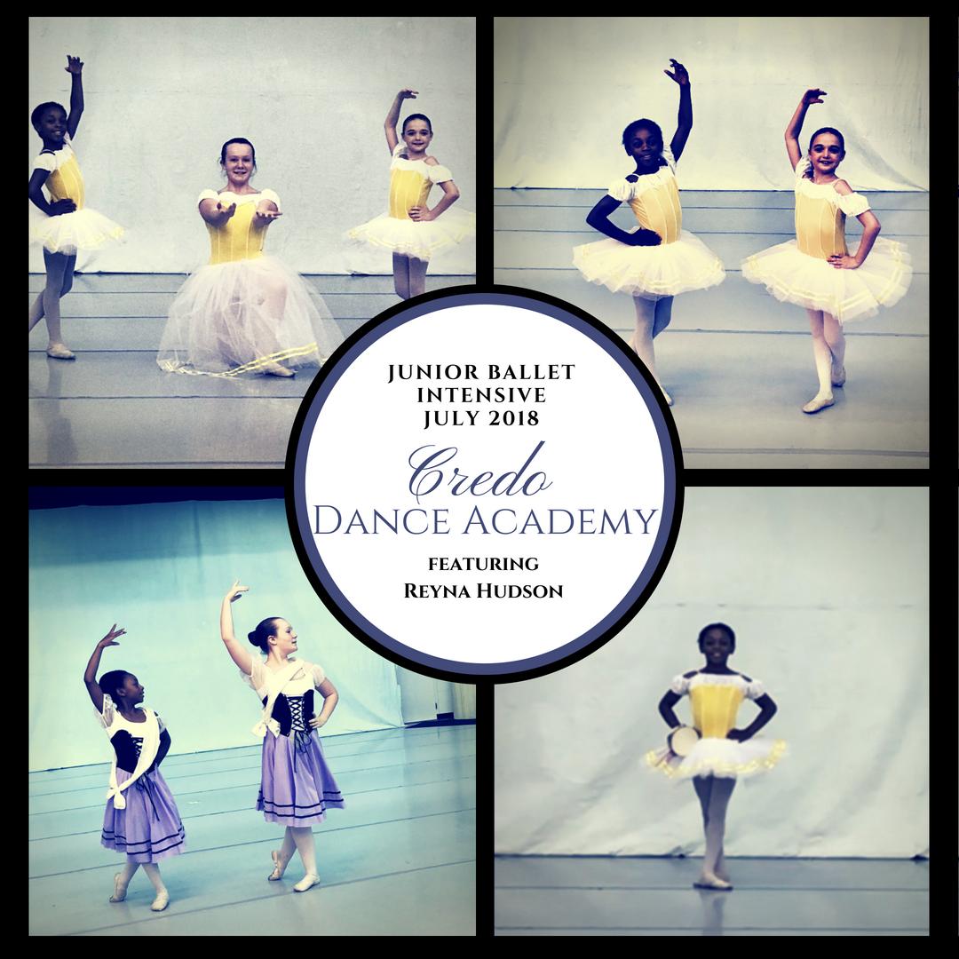 July Junior Intensive Participant Reyna Hudson Dance Instruction Ballet Class Community Outreach