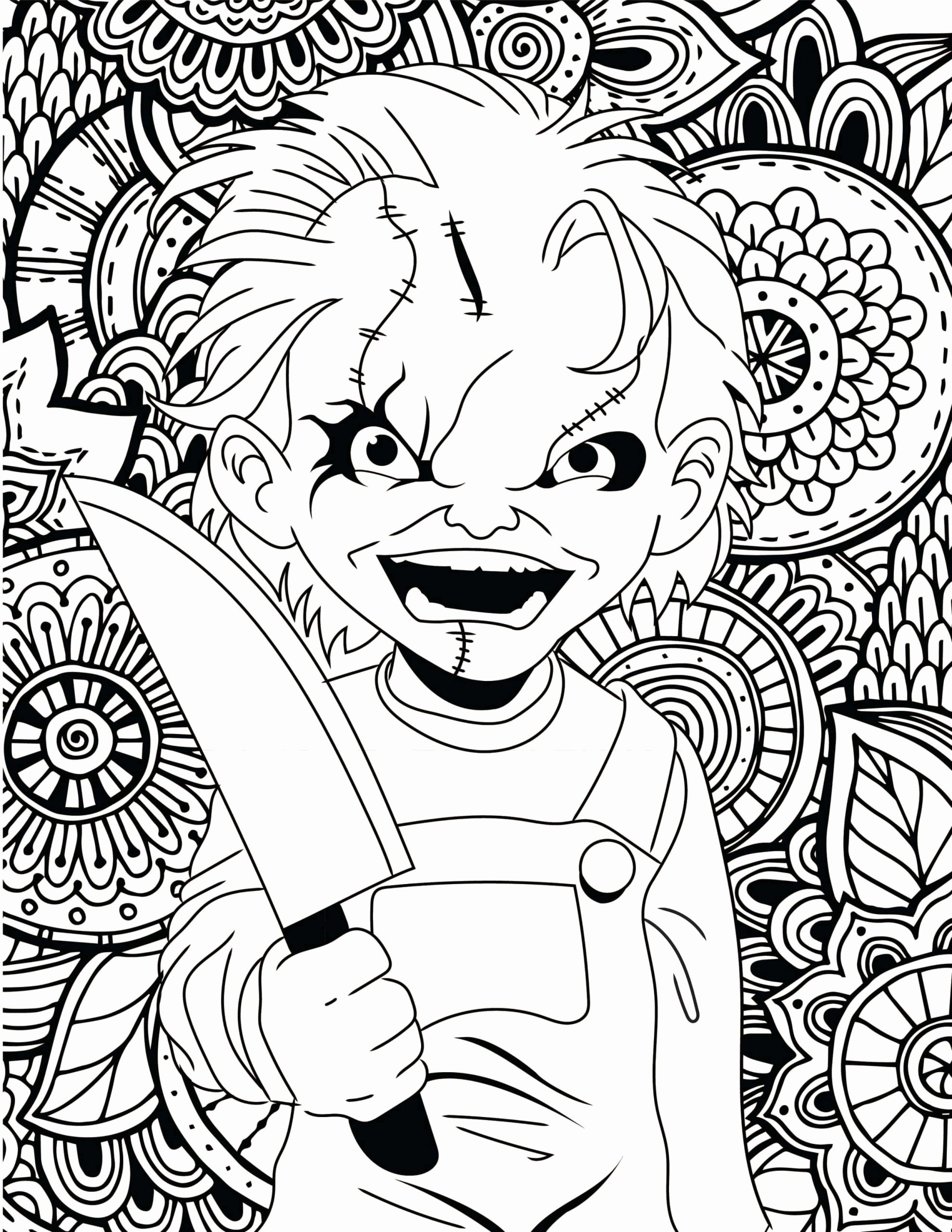 Super Hard Coloring Pages For Kids Penny Wise In 2020 Halloween Coloring Pages Printable Halloween Coloring Skull Coloring Pages