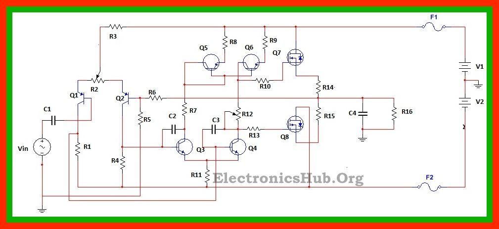 Wondrous 100Watt Mosfet Power Amplifier Circuit Working And Applications Wiring Database Plangelartorg