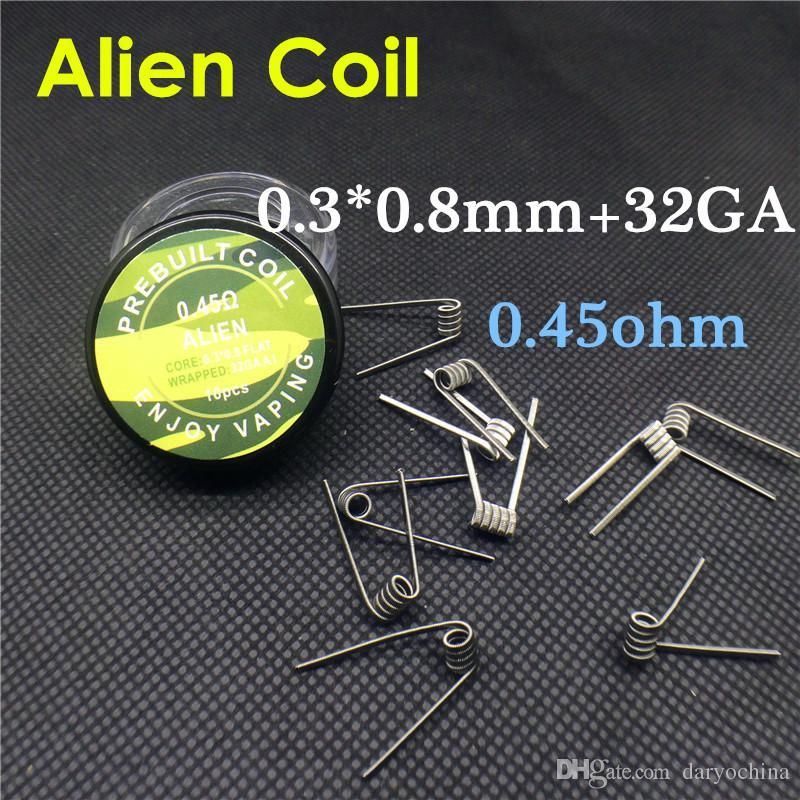 118mm clapton coils heating wires Flat twisted wire Fused clapton ...