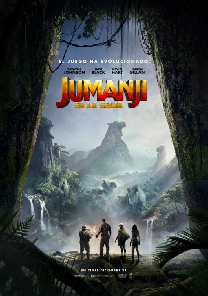 Trailer E Cartazes Do Filme Jumanji Bem Vindo A Selva
