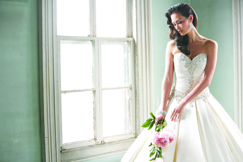 Allure bridals available at ferrari formalwear