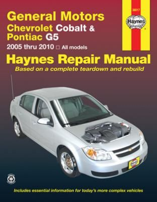 chevrolet cobalt pontiac g5 haynes repair manual 2005 2010 rh pinterest co uk 2007 chevy cobalt owners manual pdf chevy cobalt owners manual 2005