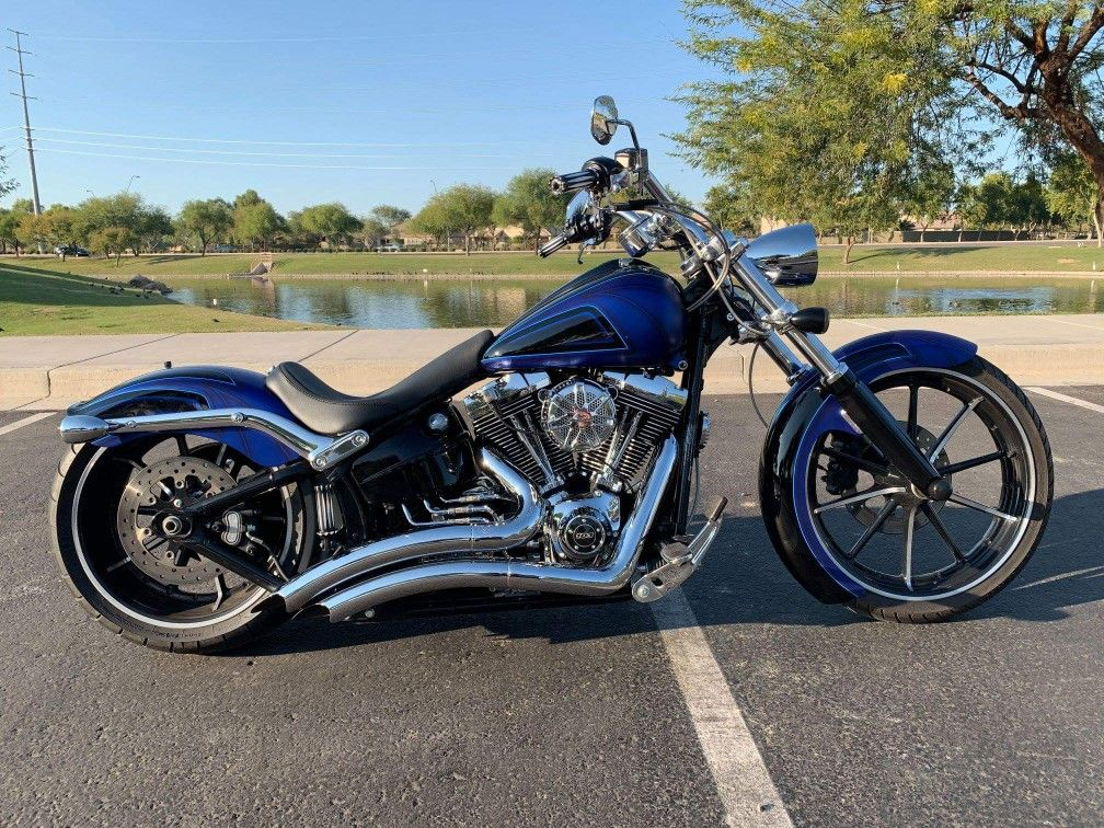Pin by Eric Biviano on harley fxsb breakout fxbr (With