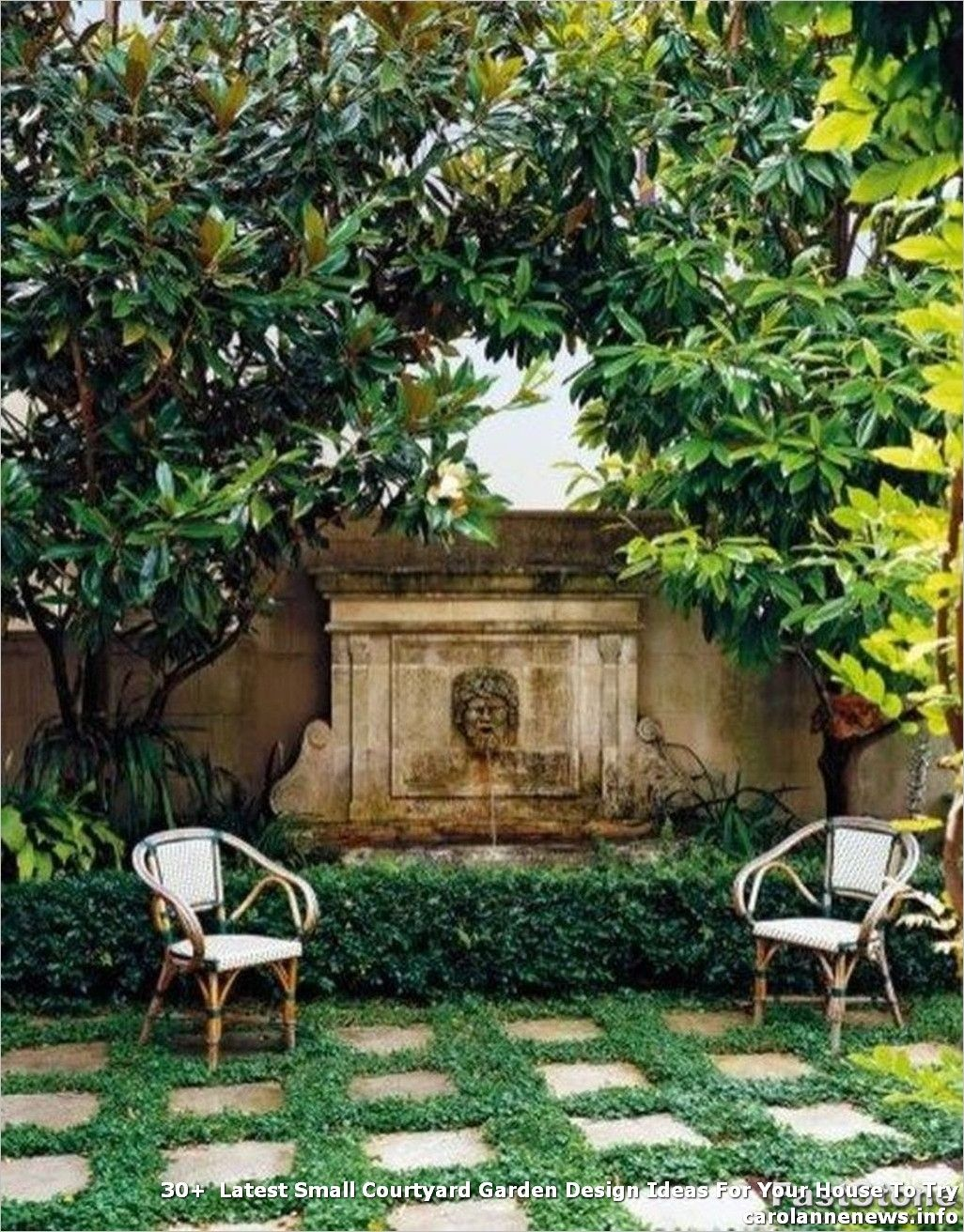 30+  #Latest #Small #Courtyard #Garden #Design #Ideas #For #Your #House #To #Try