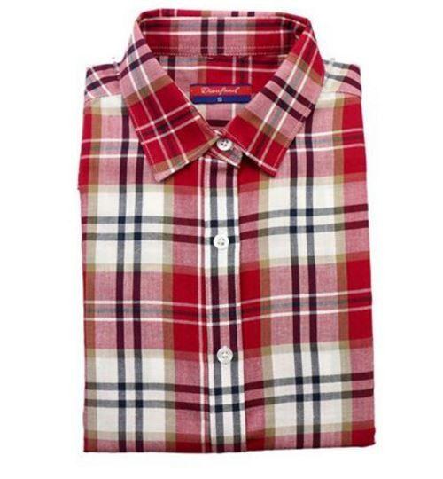 452a060cb8d Originální dámská kostkovaná košile – červenobílá – Velikost L Na tento  produkt se vztahuje nejen zajímavá sleva