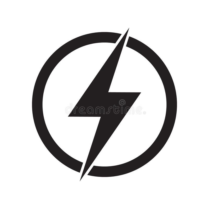 Lightning Electric Power Vector Logo Design Element Energy And Thunder Electricity Symbol Concept Lightning Logo Design Power Symbol Logo Vector Logo Design