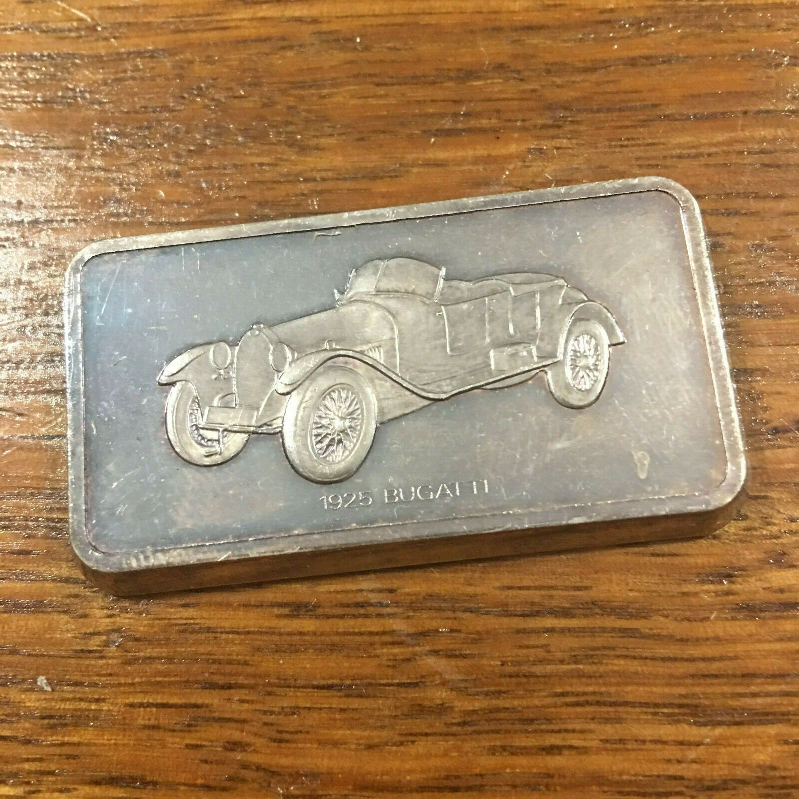 1925 Bugatti Sterling Silver Ingot/Bar | Vintage & Classic Car Great Collection …