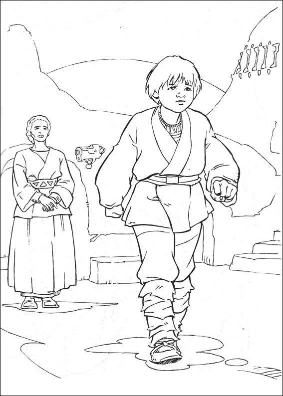 Disegni da colorare Star Wars 22