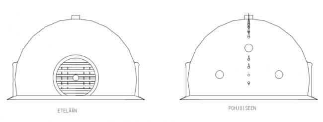 Nautilo-teos on kolmen taiteilijan yhdessä toteuttama ainutkertainen installaatio: Seppo Mäkinen, lumi- ja jäärakentaminen, Kristiina Ljokkoi, kuvamaailma sekä Petri Kuljuntausta äänimaalma. Checkpoint Leonardo -näyttely Oulun taidemuseossa. 24.1.-15.3.2015.