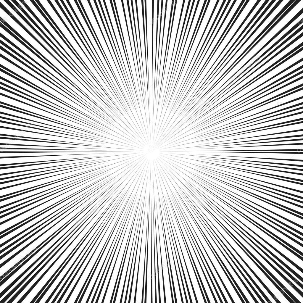 Download Vector Comic Book Speed Lines Background Stock Illustration Line Background Comic Book Layout Screentone