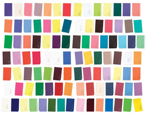 100 Day Project : Paint Swatch Colors. I just want to do some wall art