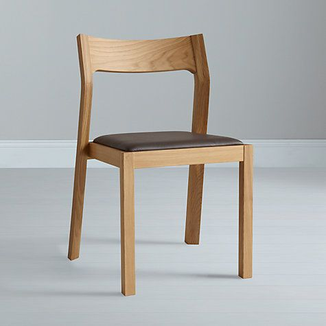Buy matthew hilton for case profile dining chair oak - Hilton furniture living room sets ...