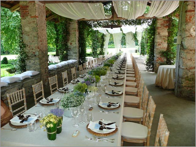 Italian Wedding Venues Country Outdoor Reception Decorations Love The Arbors