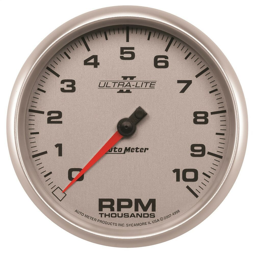 Sponsored Ebay Autometer 4998 Ultra Lite Ii In Dash Tachometer