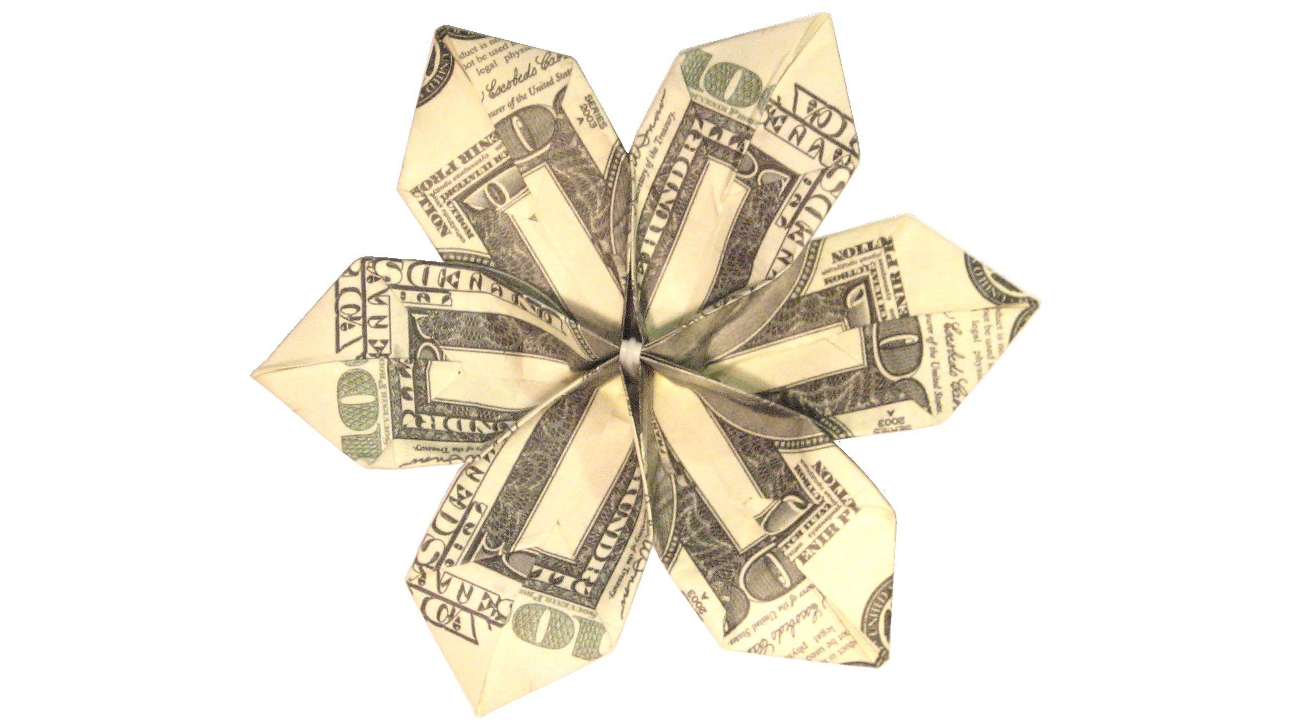How to make money flower tutorial money origami pinterest how to make money flower tutorial mightylinksfo