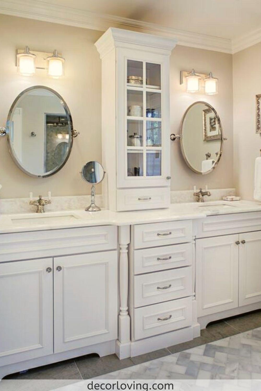 11 Best Bathroom Storage Cabinets Ideas For Your Bathroom In 2020 Bathroom Vanity Designs Double Vanity Bathroom Master Bathroom Vanity