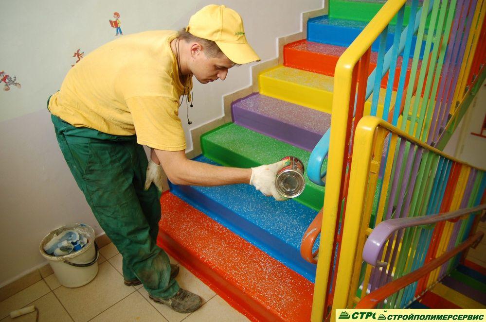 Картинки по запросу оформление лестниц в детском саду фото ...