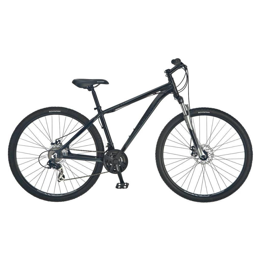 Schwinn Mens Ascension 29 Mountain Bike Black Hardtail