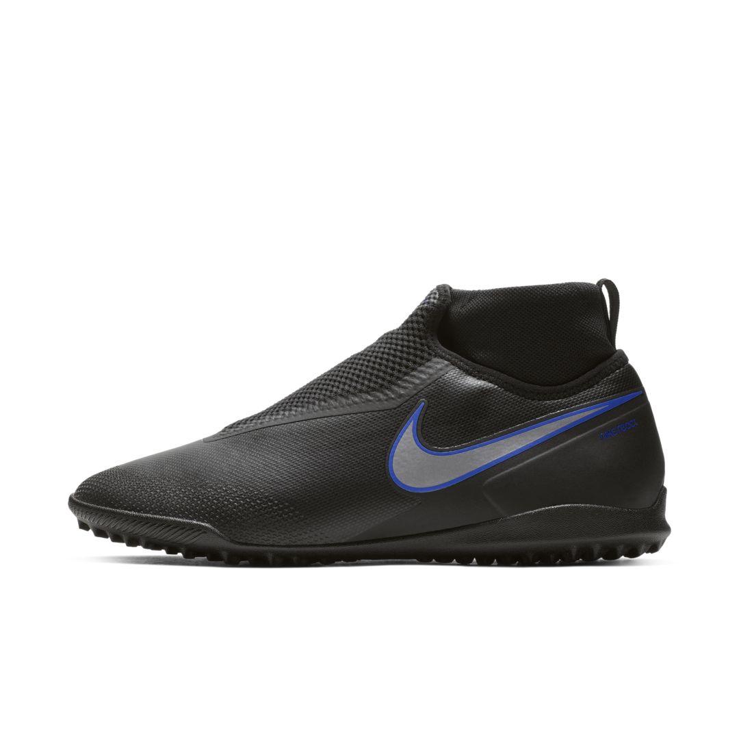 React Phantom Vision Pro Dynamic Fit Tf Turf Soccer Shoe Football Shoes Nike Black Shoes