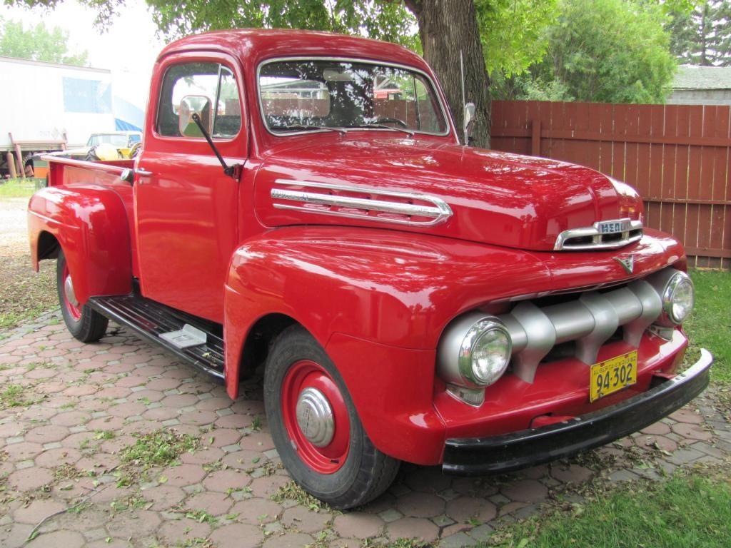 Purchase used 51 Mercury M-1 Deluxe 1/2 Ton Pickup Truck Flathead ...
