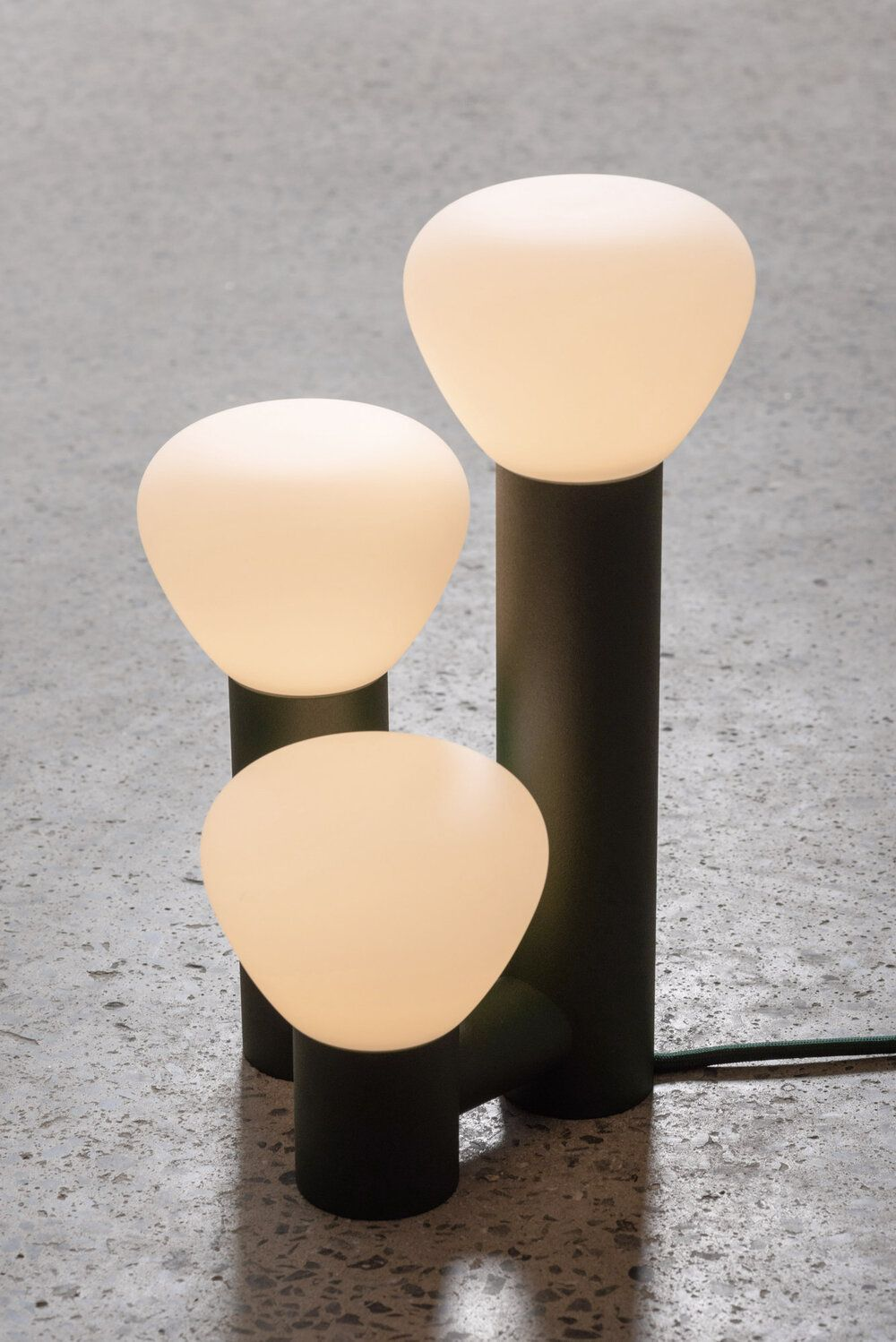 The Parc 06 Table Lamp Gestalt New York Glass Diffuser Lighting Collections Lamp