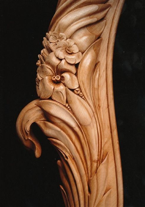 Flores laterales bedhead lima wood carving pinterest